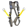 DBI-Sala 1113451 Aluminum back, front and side D-rings, hip climb assist straps for use with 6160026 cable grip, (size Large)