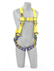 Delta Vest Style Harnesses with Back D-Ring & Tongue Buckle Legs Xlarge 1101252 by Capital Safety