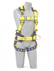 Delta Construction Style Harnesses with Back & Side D-Rings & Tongue Buckle Legs Universal 1101655