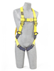 Delta Vest Style Harnesses with Back D-Rings & Pass Through Legs Xlarge 1101776 by Capital Safety