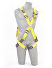 Delta Crossover Style Harnesses with Front & Back D-Rings & Pass-Thru Legs Medium 1102010 Capital