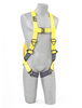 Delta Vest Style Harnesses with Front & Back D-Rings & Quick-Connect Leg Buckles Universal 1102090