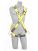 Delta Crossover Style Harnesses with Front, Back & Side D-Rings & Pass-Thru Legs Large 1103252