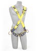 Delta Crossover Style Harnesses with Front, Back & Side D-Rings & Tongue Buckle Legs XLarge 1103376