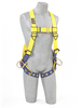 Delta Vest Style Harnesses with Back & Side D-Rings & Tongue Buckles Xlarge 1104875 Capital Safety