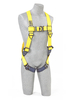 Delta Vest Style Harnesses with Back D-Rings & Quick Connect Buckles Universal 1110600 Capital