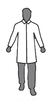 Enviroguard MicroGuard MP (8024-L) Large Micro-Porous Breathable Lab Coat No Pockets, Open Wrist (Case of 50)