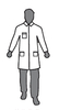 Enviroguard MicroGuard MP (8025-L) Large Micro-Porous Breathable Lab Coat 2 Pockets, Open Wrist (Case of 50)