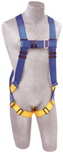 DBI-SALA AB17530 Protecta FIRST 5 Point Vest-Style Harness with Back D-ring and Pass-Thru Leg Straps (Size Universal)