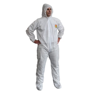 SMS400-XXL X-Max White Coverall - XX-Large
