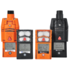 Industrial Scientific Ventis® Pro5, CO2/HC IR, CO, H2S, O2, Li-ion, Desktop Charger, Orange, UL/CSA, English