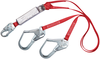 DBI-SALA 1340180 PRO 6 ft. Pack 100% Tie-Off Shock Absorbing Lanyard with Snap Hook and Steel Rebar Hook at Ends