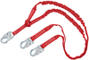 DBI-SALA 1340240 Protecta PRO-Stop 6 ft Double-Leg 100% Tie-Off Shock Absorbing Lanyard with Snap Hook at Ends