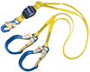 DBI-SALA 1246021 EZ-Stop Tie-Off Shock Absorbing Lanyard 6 ft. with Aluminum Snap Hook and Rebar Hooks