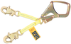 DBI-SALA 1231389 Web Rebar/Positioning Lanyard with Saflok Max hook 18in