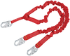 DBI-SALA 1340141 PRO 6 ft. Stretch 100% Tie-Off Shock Absorbing Lanyard with Snap Hook at Ends