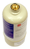 RKI 81-0160RK-02, Calibration Gas Cylinder, 10ppm H2S/50 ppm CO/50% LEL CH4/12% O2, 58L by RKI Industries