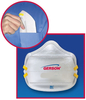 Gerson 6710C Respirator CE Approved FFP1 Particle Respirator Mask Folds Flat 20/Box/10Box/Case, CASE